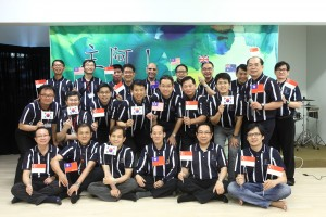Volunteers for Johor Bahru Chinese Father School